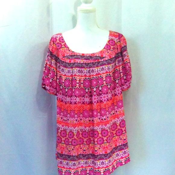 Dress Barn Tops - Dress Barn Short Sleeve Top Size 2X